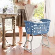 70165-Blue  Laundry Basket