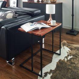Lotus-600-Acacia  Sofa Desk