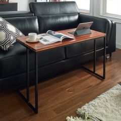 Lotus-1000-Acacia  Sofa Desk