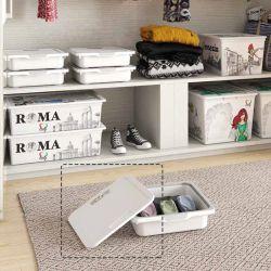 Kreo-White  Storage Box Lid  (뚜껑)