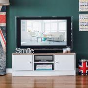 Weldo-White  TV Stand