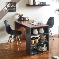 ART-2-Acacia-2BB-B Dining Set  (2인용)   (1 Table + 2 Chairs)