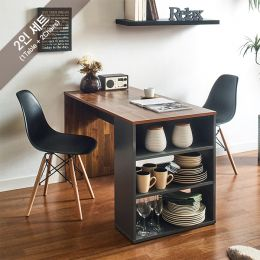 ART-2-Acacia-2BB-B Dining Set  (2인용)   (1 Table + 2 Chairs)