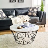 Dudley  Marble Coffee Table