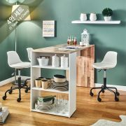 ACT-4-Vintage-Minnie-W Dining Set  (4인용)   (1 Table + 4 Chairs)