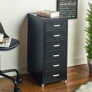 LLC-Z6B-Black Metal Cabinet