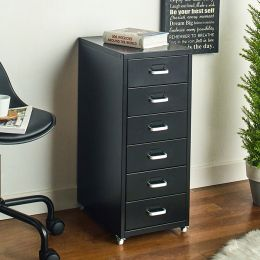 LLC-Z6B-Black Metal Cabinet