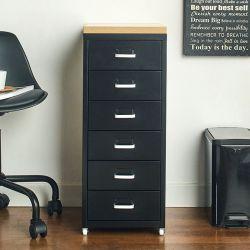 (0)LLC-Z6B-Black Metal Cabinet