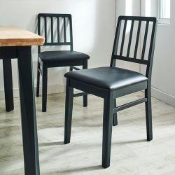 Miso-Black-C  Wooden Chair
