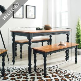 D3400-20-Black  Dining Table  (Table Only)