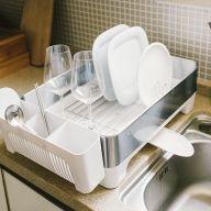 EK9273-White  Dish Rack