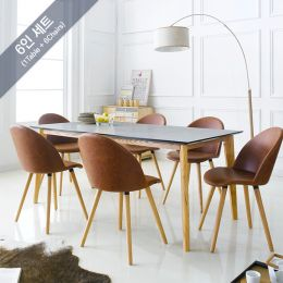 Contra-6-Manley  Dining Set (6인용)