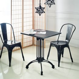 Eng-S-Black Dinette Table