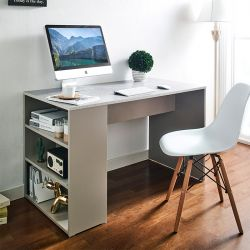 ART-2-Stone-G Desk w/ Storage