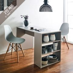 ART-2-Stone-2BB-G  Dining Set  (2인용)   (1 Table + 2 Chairs)