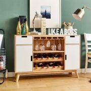 New York-Wine  Kitchen Cabinet