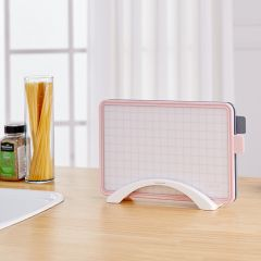 Modern Check Cutting Board Set  (2 Pcs)