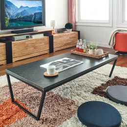 Robe-Blk-BM-Tea  Cocktail Table  (23t)