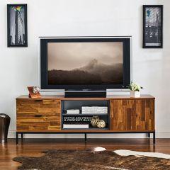 Nautica-160   TV Stand w/ Metal Base