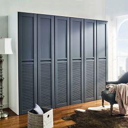 WD-1300-Grey-03  3-Unit Closet