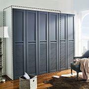 WD-1300-Grey-02  2-Unit Closet