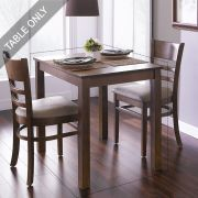 Cabin-2-Walnut-D  Dining Table (Table Only)