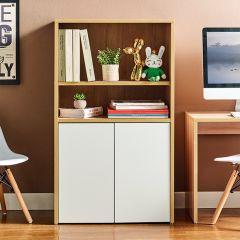 MIT-OAK-White  Kids Bookcase