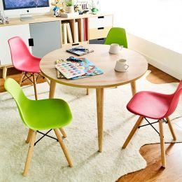 Montessori-Oak  Round Table