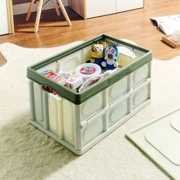 S8592-Green Storage Box w/  Lid