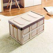 S8592-Pink-Beige Storage Box w/  Lid