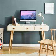 Rora-LD-Ivory  Large Desk