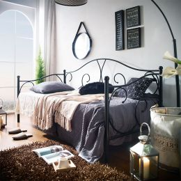 MBD-8814-Black  Day Bed