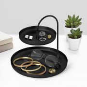 1009707-040 Poise Two Tiered Tray-Black