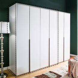 WD-5000-White-02  2-Unit Closet