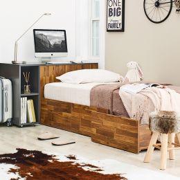 Bolton-Acacia-DG  Storage Bed w/ Desk