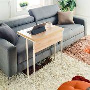 Mona-600-Ivy-Oak Sofa Desk  (H=65cm)