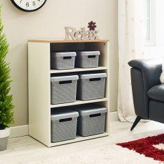 Lindo-Ivy-Oak  Closet w/ Shelves