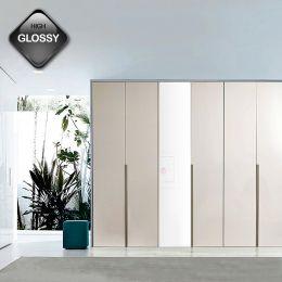 WD-8200-03  3-Unit Closet  w/ Mirror Front   ~High Gloss Front Door~