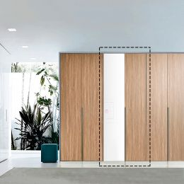 WD-8600-01 Single Closet   w/ Mirror Front