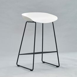 PP-696F-White  Bar Chair