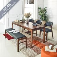 Caso-6  Dining Set (1 Table + 3 Chairs + 1 Bench)
