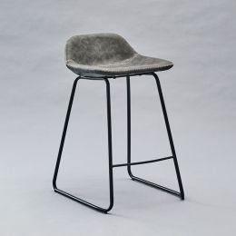 GT-8110-Grey  Bar Chair