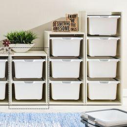 Melody-Wht-2W  Storage Box