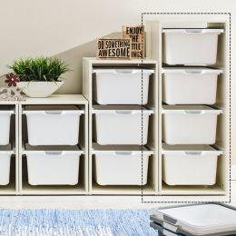 Melody-Wht-4W  Storage Box
