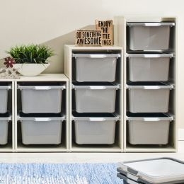 Melody-Wht-9G  Storage Box  (3 Pcs)