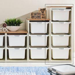 Melody-Oak-4W  Storage Box