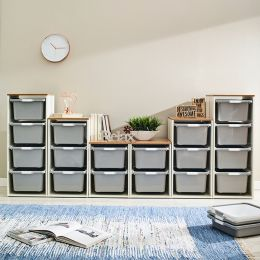 Melody-Oak-FG  Storage Box  (6 Pcs)