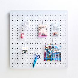 Mega-White  Peg Board  w/ 12-Hook
