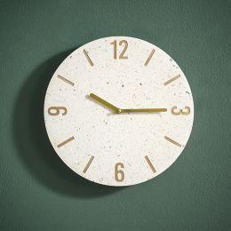 3XXFA18053 Wall Clock  (Stone Base)