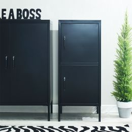 LLC-51-Black  Metal Cabinet